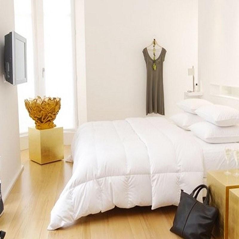 couette mi saison 90 plumes et duvet de canard. Black Bedroom Furniture Sets. Home Design Ideas