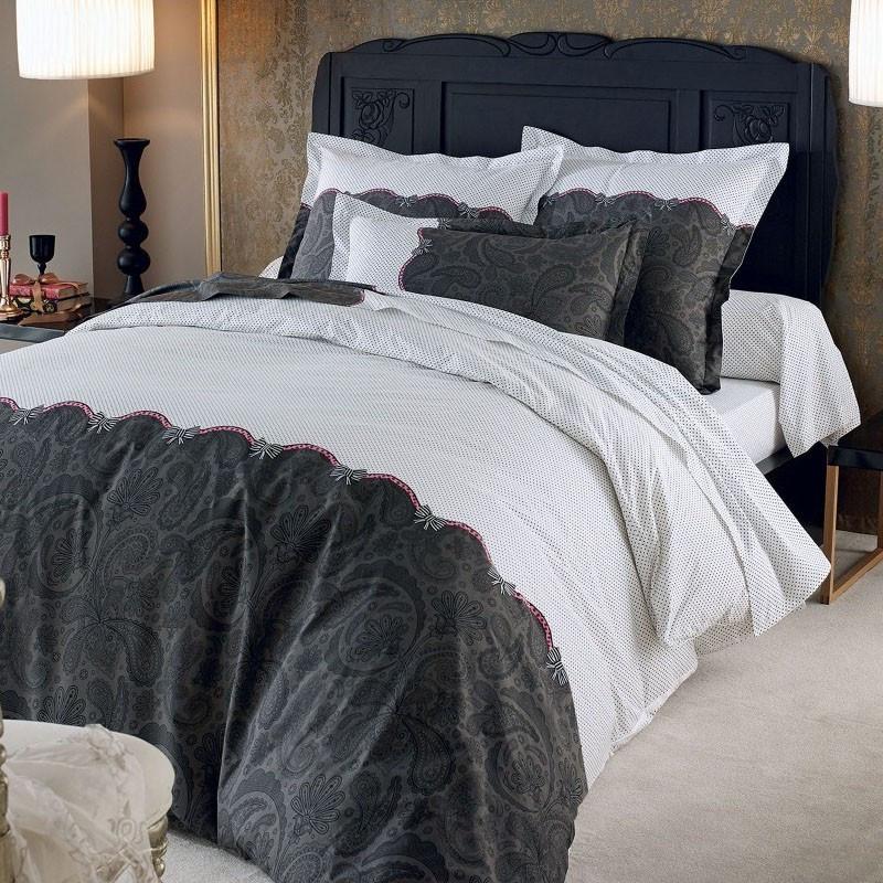housse de couette percale 240x260. Black Bedroom Furniture Sets. Home Design Ideas