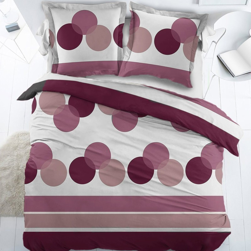 housse de couette bulles percale. Black Bedroom Furniture Sets. Home Design Ideas