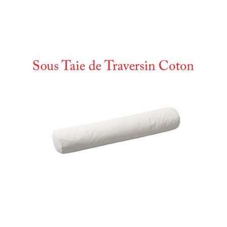 Sous Taie Traversin 90 de Long Coton 57 fils/cm2