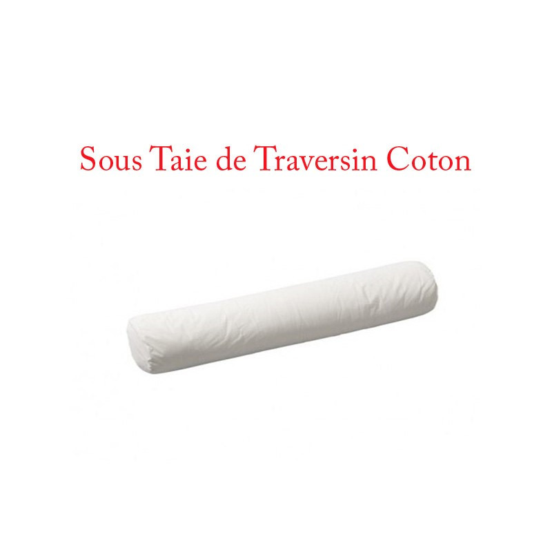 protection de taie de traversin en coton 57 fils cm2. Black Bedroom Furniture Sets. Home Design Ideas
