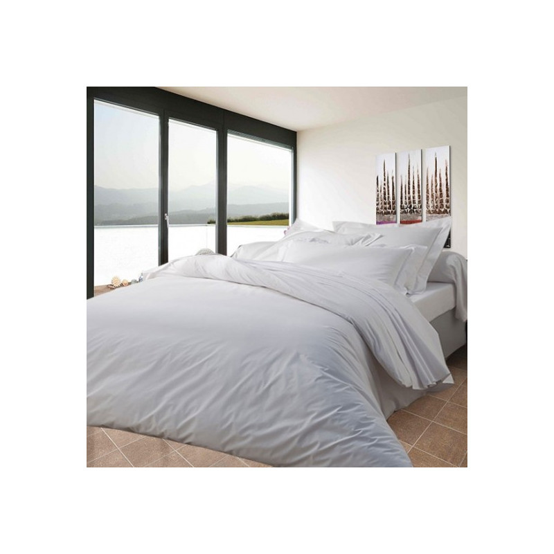 housse de couette percale polycoton 71 fils cm2. Black Bedroom Furniture Sets. Home Design Ideas