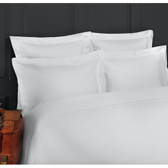 drap housse luxe riviera satin de coton 320 fils. Black Bedroom Furniture Sets. Home Design Ideas