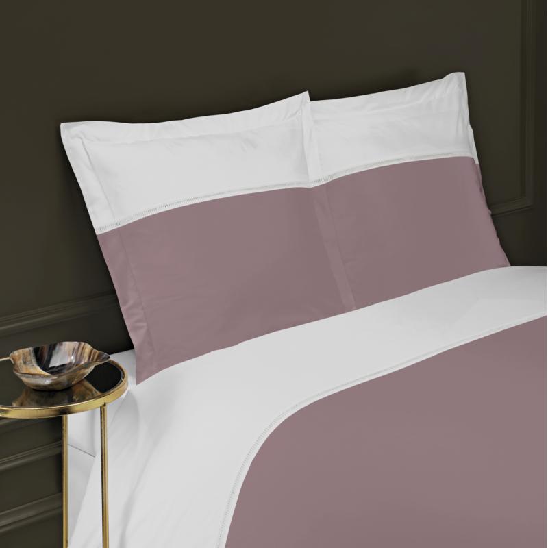 housse de couette venise percale 80 fils cm2 jour echelle la compagnie du blanc. Black Bedroom Furniture Sets. Home Design Ideas