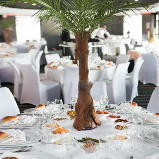 Serviette de table blanc