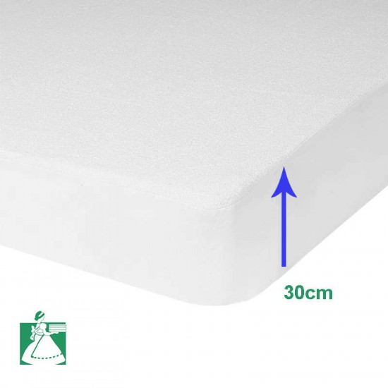 prot ge matelas al ze polyur thane imperm able. Black Bedroom Furniture Sets. Home Design Ideas