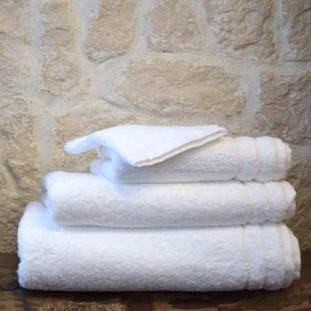 Serviette de Toilette 50x100 Collection Grand Hotel 650 gr/m²