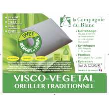 Oreiller Pilo Vegetal 60x60 - Drouault -