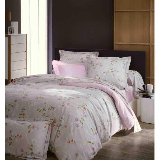 parure de draps senteur 4 pi ces dh140 dp240 2to la. Black Bedroom Furniture Sets. Home Design Ideas