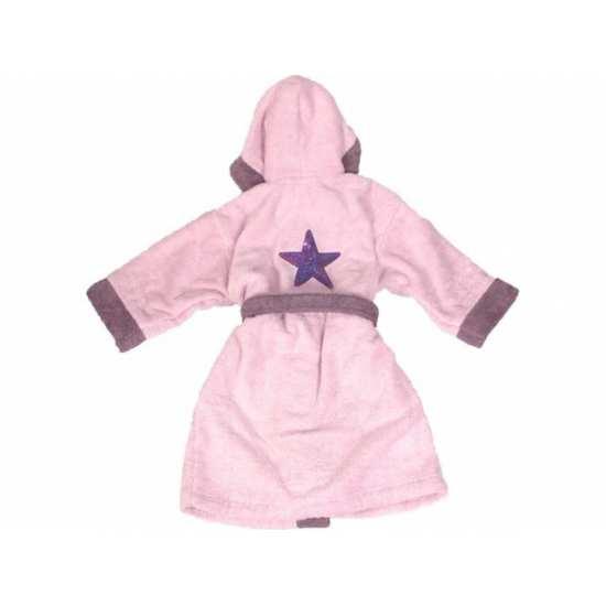 Peignoir de Bain Enfant Pink Star