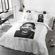 Housse de Couette 200x200 Eleven Paris Will Smith + 2 Taies