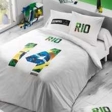 Housse de Couette 220x240 ElevenParis Rio + 2 Taies 65x65