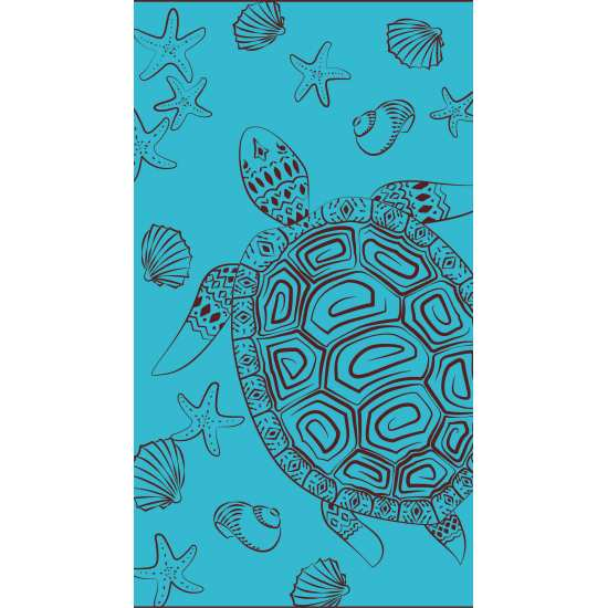 Drap de Plage 95x170 Galapagos Turquoise