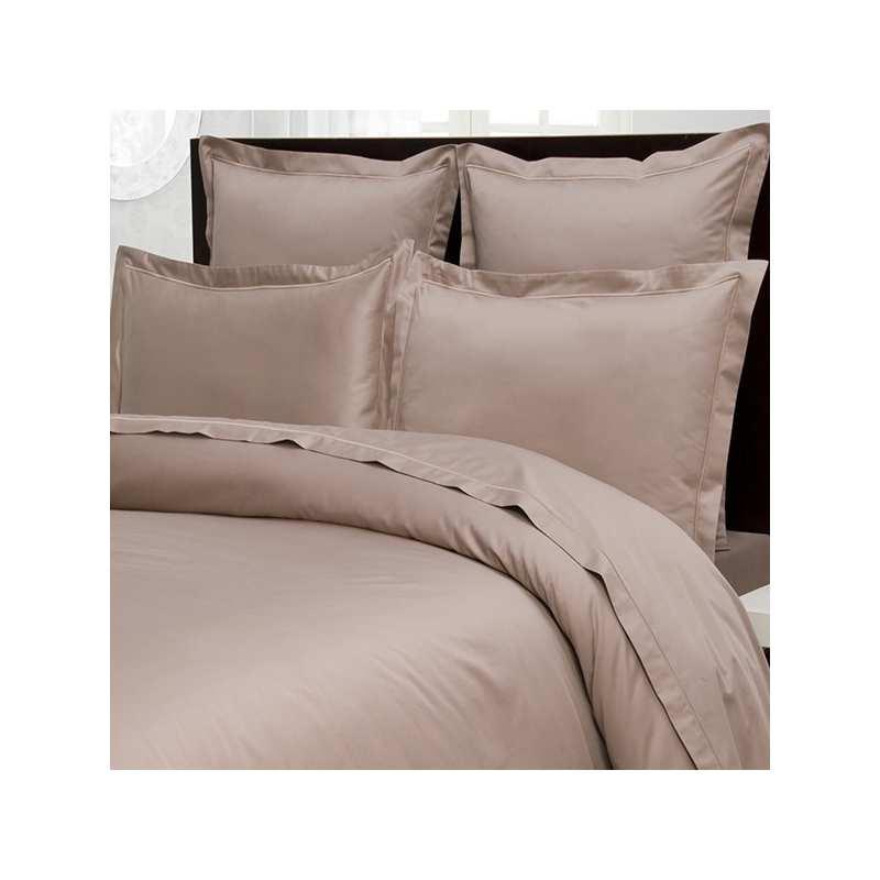 housse de couette 220x240 satin de coton prestige 240 fils. Black Bedroom Furniture Sets. Home Design Ideas