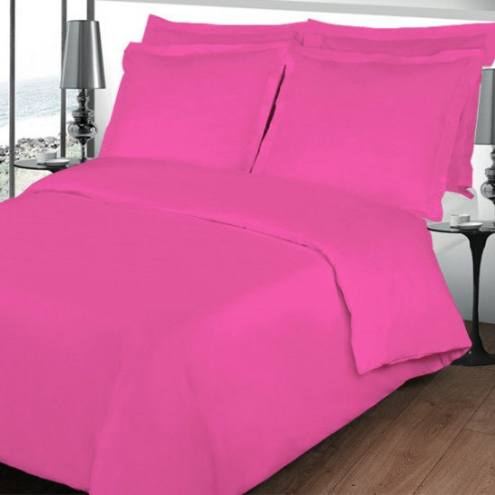 housse de couette fushia. Black Bedroom Furniture Sets. Home Design Ideas