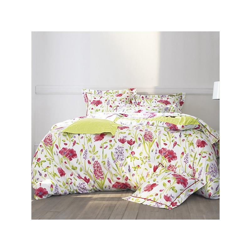 parure de draps 4 pieces sanderson garden flowers. Black Bedroom Furniture Sets. Home Design Ideas