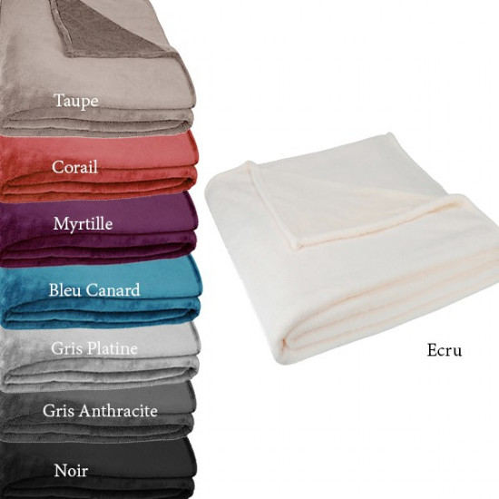 Couverture Polaire Toison d'Or Extra Moelleuse