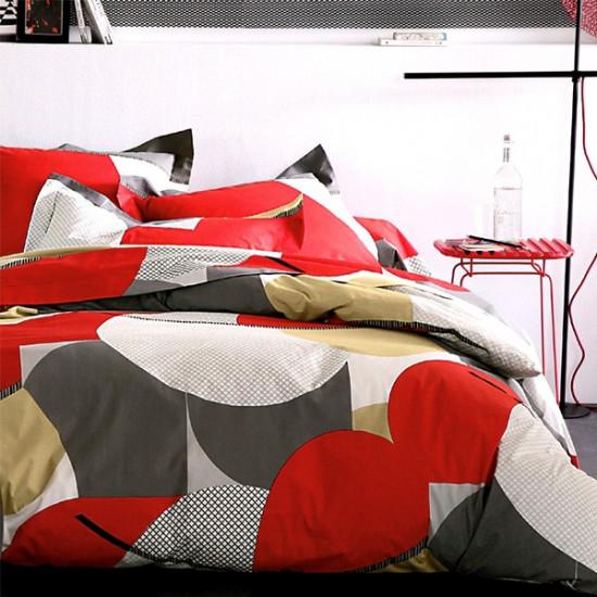 Parure de draps Punch Carmin 4 pièces extra large (DH140_DP240+2TO)