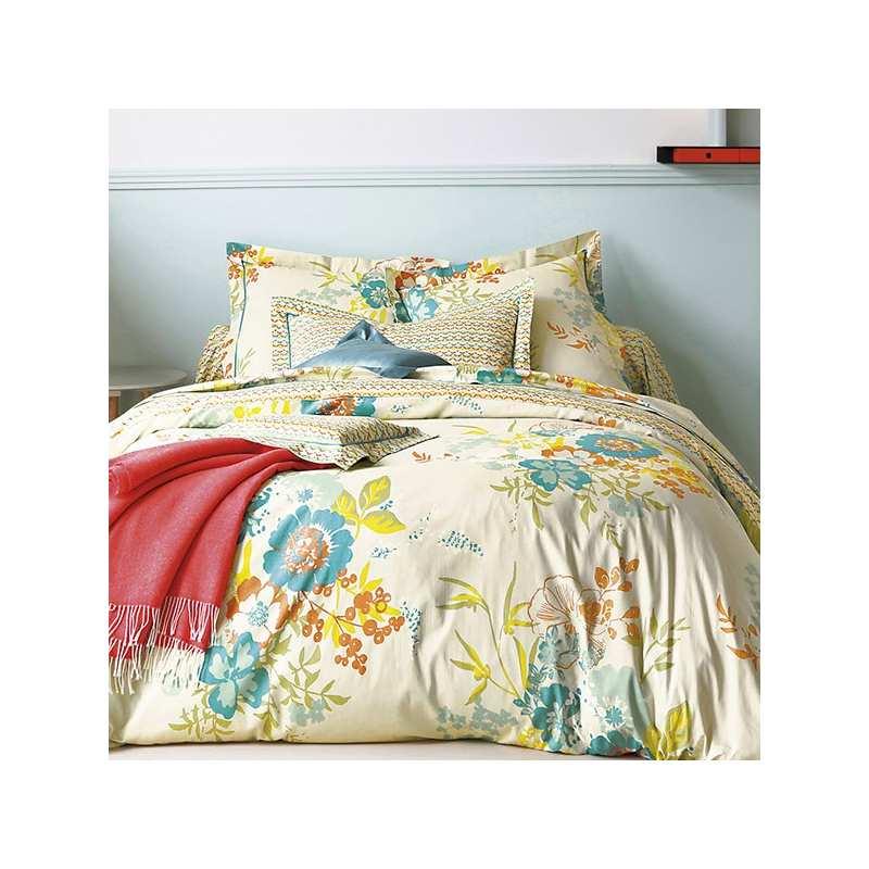 parure de draps 4 pieces opio celadon dh140 dp240 2to. Black Bedroom Furniture Sets. Home Design Ideas