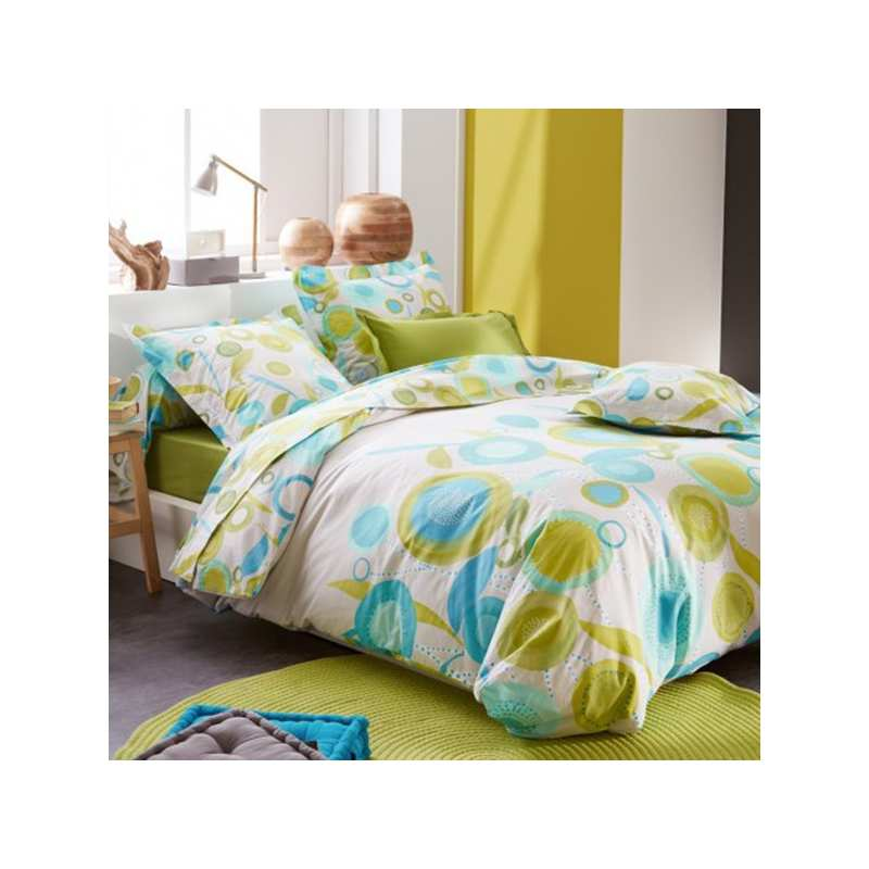 housse de couette 240x260 grande taille vert anis pictures. Black Bedroom Furniture Sets. Home Design Ideas