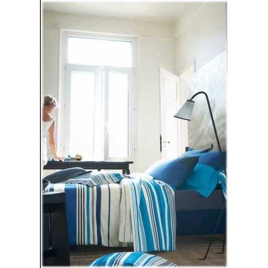 Parure de Draps 4 pièces Luz Bleu Nuit (DH140_DP240_2TO)