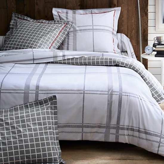 parure de draps cambridge blanc 4 pi ces dh140 dp240 2to. Black Bedroom Furniture Sets. Home Design Ideas