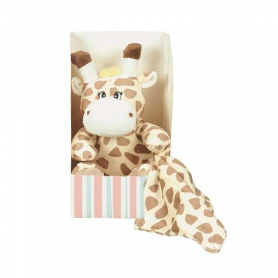 Doudou Boite Giraffe