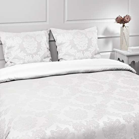 Housse de Couette Renaissance Blanc 220x240 + 2 taies 65x65