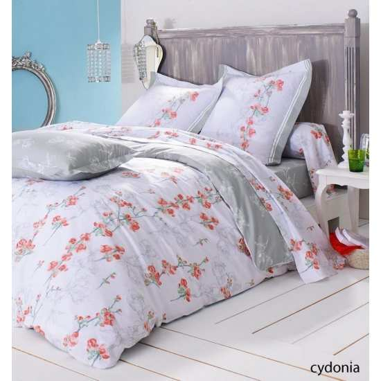 Housse de Couette Cydonia 200x200 + 2 taies 65x65