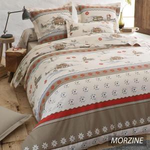 Parure de draps Morzine 4 pièces (DH140_DP240_2TO)