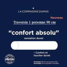 Traversin 1 pers. 90 Confort Absolu La Compagnie DUMAS