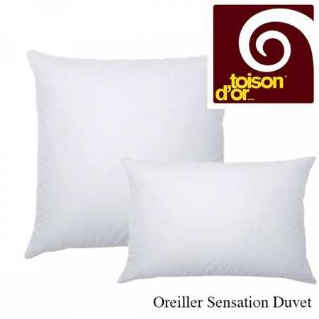 Oreiller 65x65 Sensation Duvet Toison d'Or