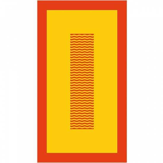 Drap de Plage 95x170 Cyclades Corail