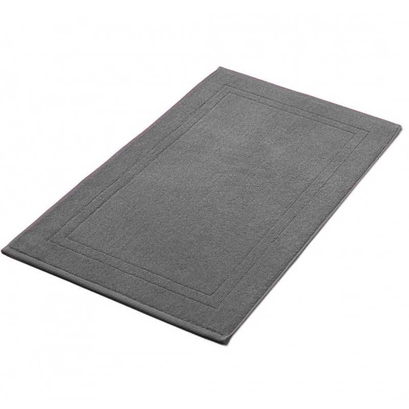 Tapis de bain anthracite 50x80 cm 900gr m2 la compagnie du blanc - Tapis gris anthracite ...