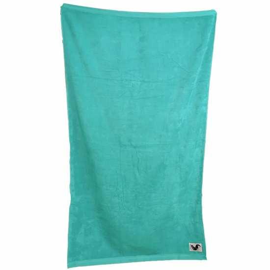 Drap de Plage Uni Promo 80x180 Turquoise