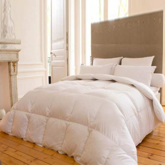 Couette Luxe 200x200 Yeti 90% Duvet Oie 260gr/m² Drouault