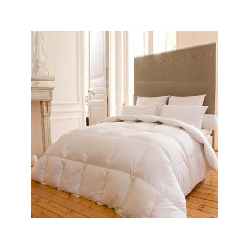 couette luxe 200x200 yeti 90 duvet oie 260gr m drouault la compagnie du blanc. Black Bedroom Furniture Sets. Home Design Ideas