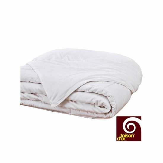 Couette en Soie HIVER Silkydor 380 gr/m² 240x280 Toison d'Or EXTRA LARGE