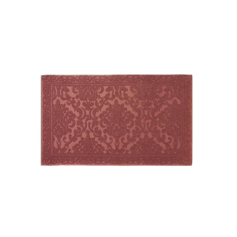 tapis de bain cisel jacquard 60x100 cm 1200gr m2 marsala la compagnie du blanc. Black Bedroom Furniture Sets. Home Design Ideas