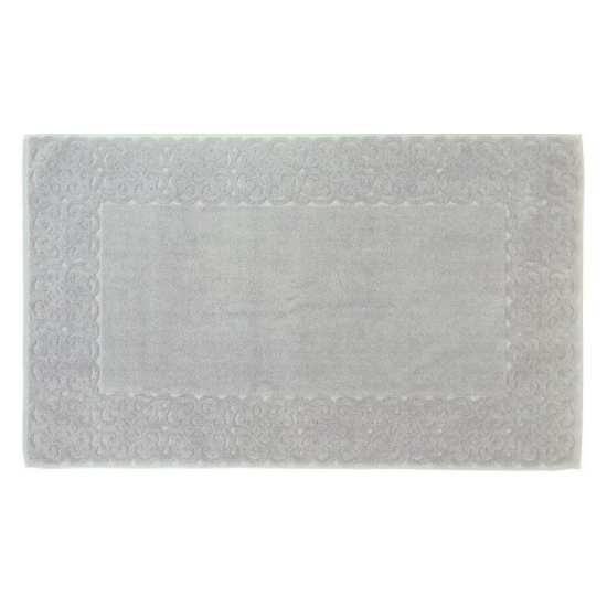 Tapis de Bain Spirale Jacquard 60x100 cm 1200gr/m2 Gris Perle
