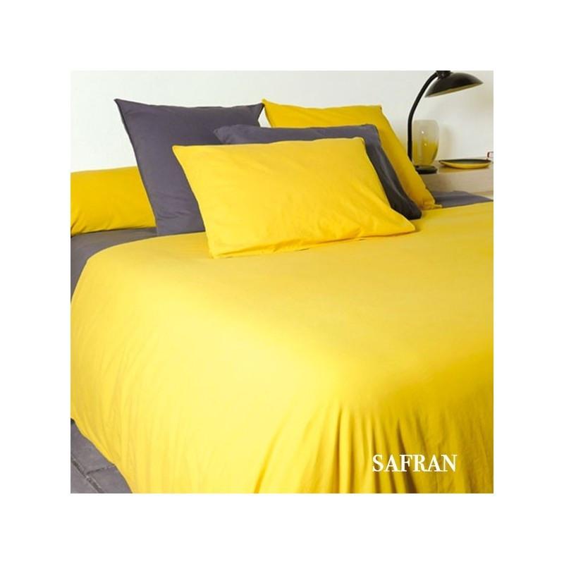 housse de couette coton lav 110g m la compagnie du blanc. Black Bedroom Furniture Sets. Home Design Ideas