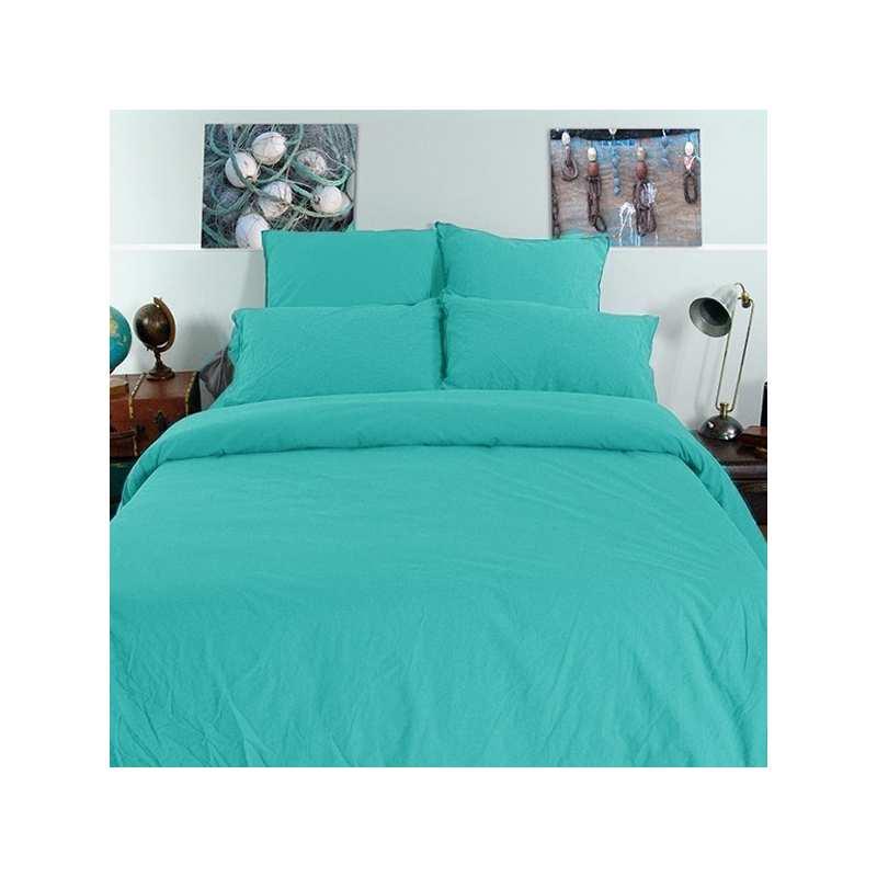 linge de lit coton froiss la compagnie du blanc. Black Bedroom Furniture Sets. Home Design Ideas