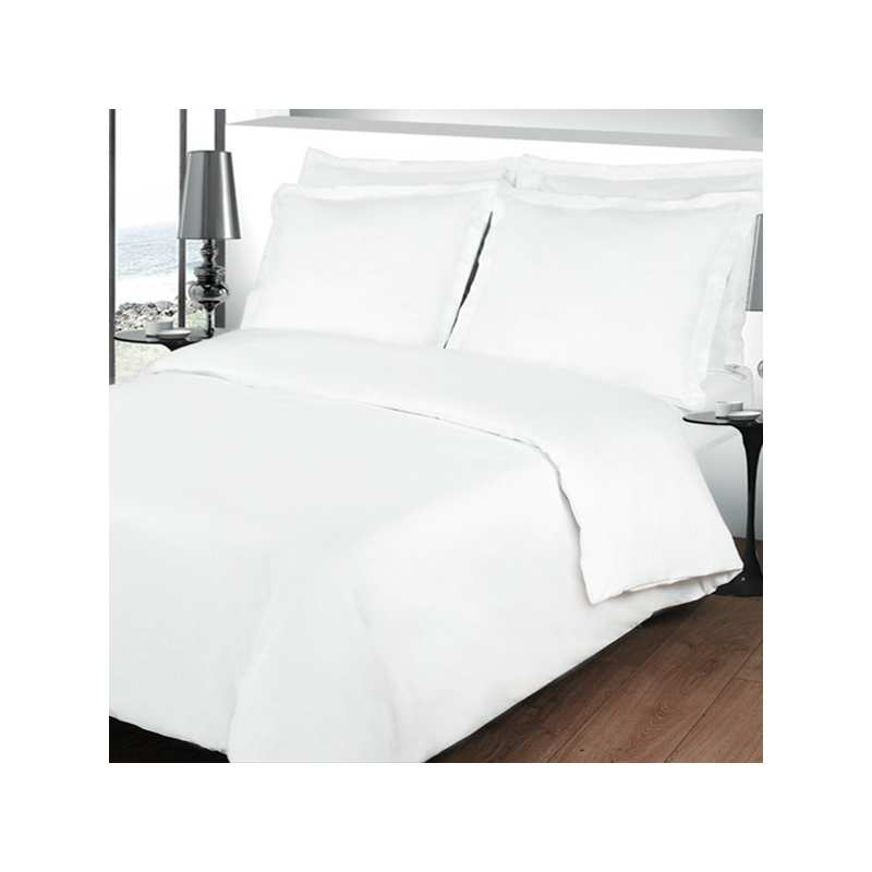linge de lit percale la compagnie du blanc. Black Bedroom Furniture Sets. Home Design Ideas