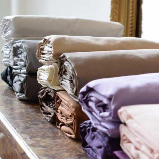linge de lit satin de coton 120 fils cm2 la compagnie du