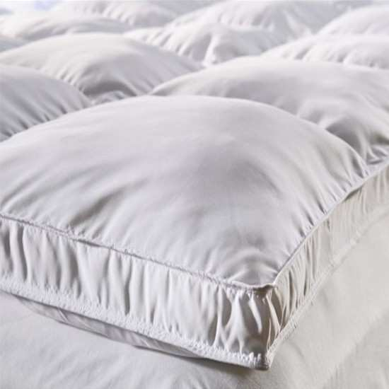 surmatelas duvet h tels la compagnie du blanc. Black Bedroom Furniture Sets. Home Design Ideas