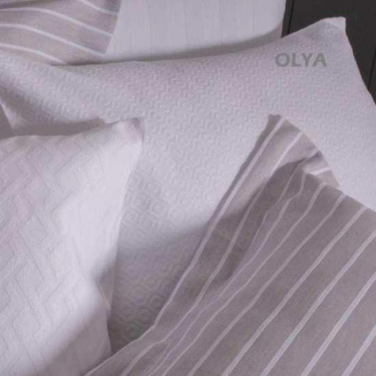 Couvre Lit - Piqué de Coton Olya