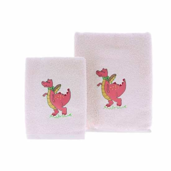 Linge de Bain Enfant Dragon Rose