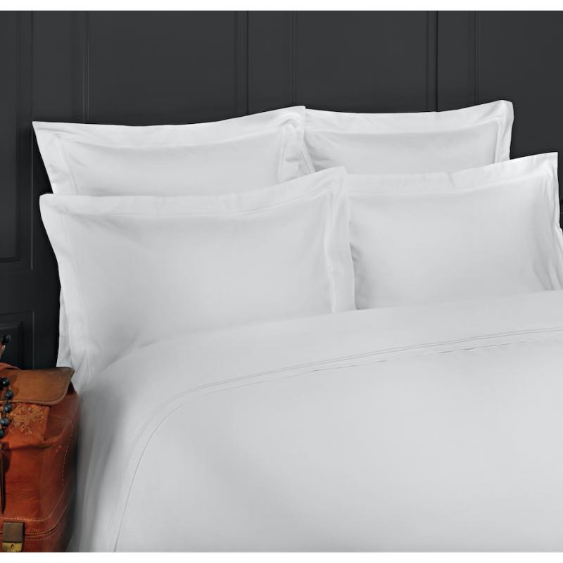 linge de lit luxe satin de coton 320 fils cm2 la. Black Bedroom Furniture Sets. Home Design Ideas