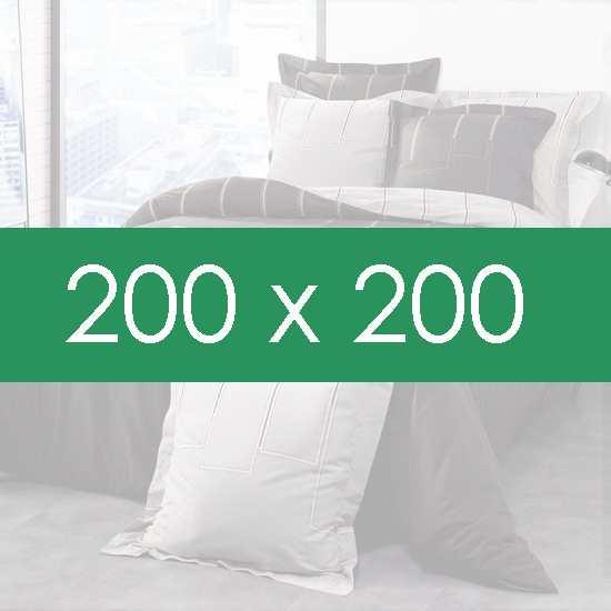 Housse de couette 200x200