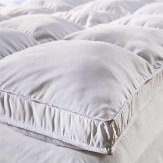 """Surmatelas de Confort Naturel """"Nuage"""" 1700g/m2 Haut Luxe"""